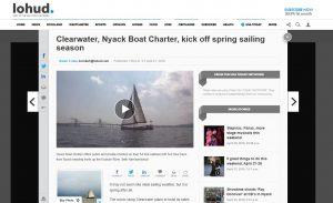 LoHud Article on Clearwater/Nyack Boat Charter