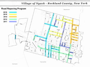 How the Village of Nyack started its Road Rebuilding Program